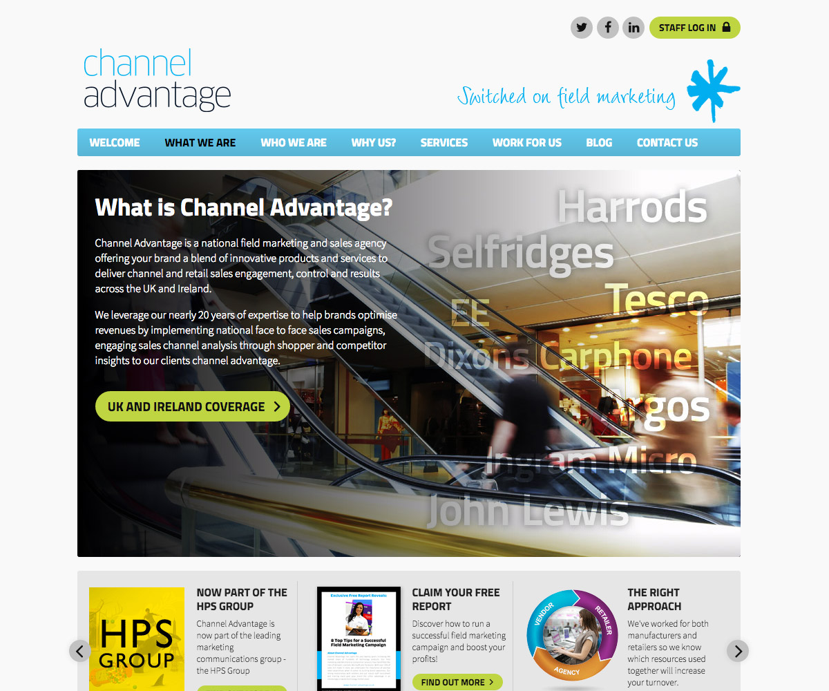 Channel Advantage Website 2