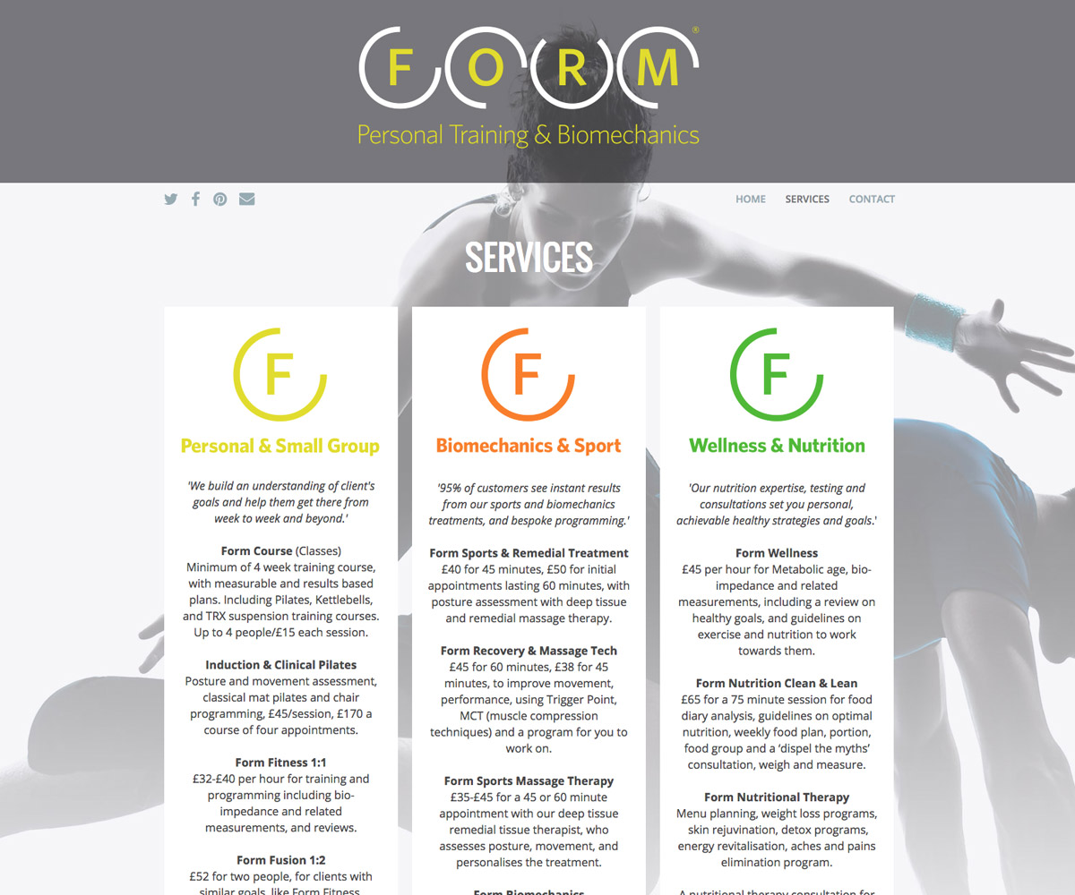 FORM Website 2