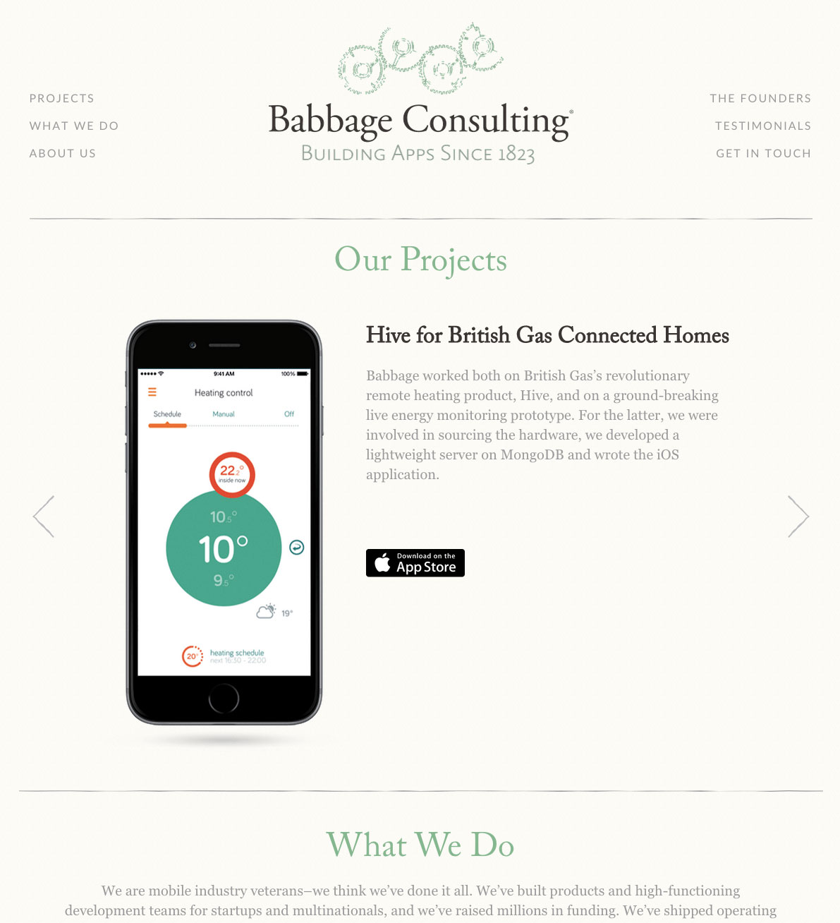 Babbage Consulting home page
